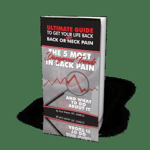 Chiropractor Arlington TX Paul Meyer E-Book Top 5 Most Dangerous Trends in Back Pain